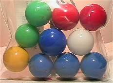 4229: 66229 BB Marbles: 10 Akro Opal Shooters