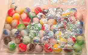 69001 BB Marbles: About 50 Marble Kings