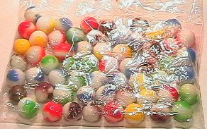 5001: 69001 BB Marbles: About 50 Marble Kings