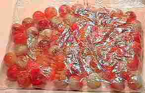 69004 BB Marbles: About 50 Crackled Jabos