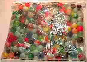 69005 BB Marbles: About 100 Machine Mades