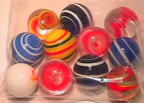 5023: 69023 BB Marbles: 11 Contemporary Chinese Handmad