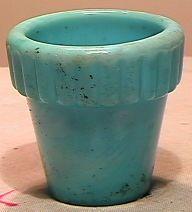 69043 BB Marbles: Akro Ribbed Pot #290 Thumb-pot