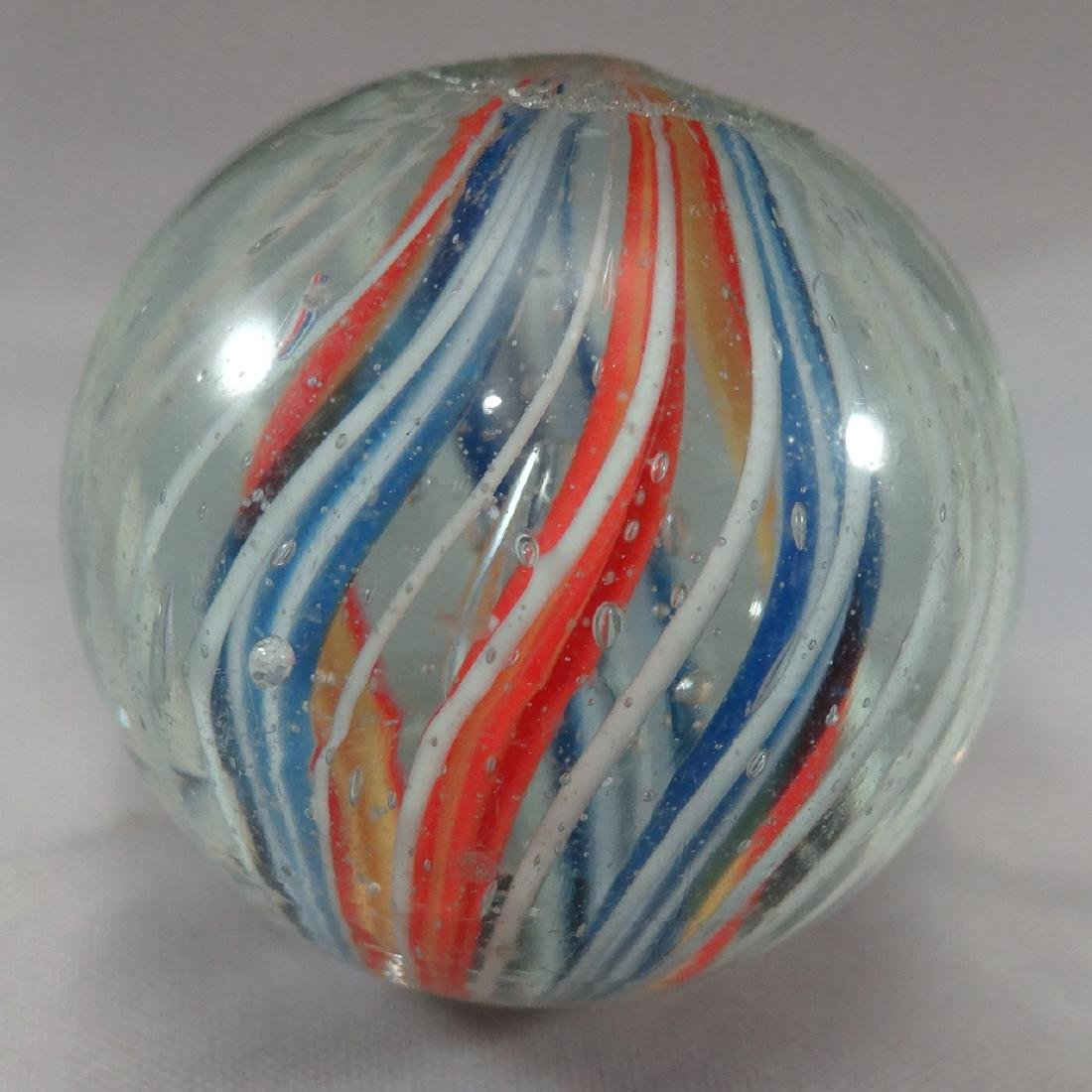 "Lot 56. SWIRL, Divided Core. 1-3/16"". 9.7"