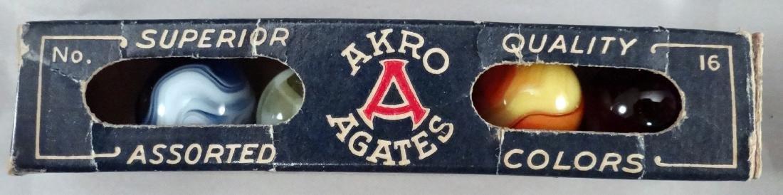 Lot 158. AKRO AGATE COMPANY, Original package.