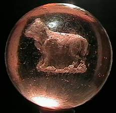 """69002 BB Marbles: Cow Sulphide 1-15/16"""" 8.8 SULP"""