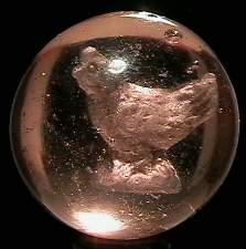 "69009 BB Marbles: Chicken Sulphide 1-7/16"" 8.6 S"