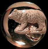 "1010: 69010 BB Marbles: Bear Sulphide 1-5/16"" Polished"