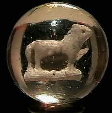 "69011 BB Marbles: Animal Sulphide 1-3/16"" 9.2 SU"
