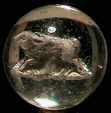 "69013 BB Marbles: Rabbit Sulphide 1-7/16"" 8.2 SU"