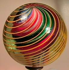 "69015 BB Marbles: 3-Layer Swirl 2-3/16"" 8.8 SWIR"