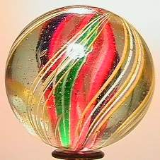 """69018 BB Marbles: Divided Core Swirl 1-13/16"""" 9.6"""