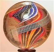 "1020: 69020 BB Marbles: Ribbon Swirl 1-11/16"" 8.6 SWIR"