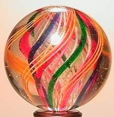 "69023 BB Marbles: 3-Layer Swirl 1-7/16"" Pol. SWI"