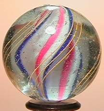 """69024 BB Marbles: Lobed Solid Swirl 1-3/16"""" 9.0"""