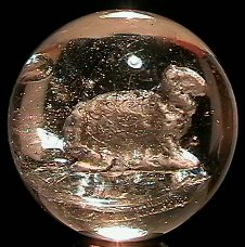 """2010: 70010 BB Marbles: Sheep Sulphide 1-9/16"""" 8.9  SUL"""