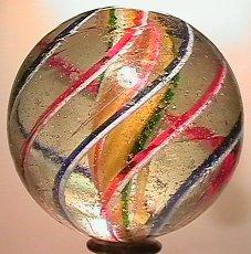 "2023: 70023 BB Marbles: Solid Core Swirl 2"" 8.2  SWIRL,"