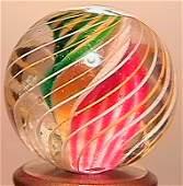 """2038: 70038 BB Marbles: Ribbon Swirl 25/32"""" 9.9 SWIRL,"""