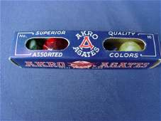 2154: 70154 BB Marbles: Akro No. 16 Package AKRO AGATE