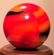 "2241: 70241 BB Marbles: Peltier Golden Rebel 9/16"" 9.9"
