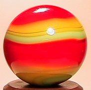69009: 69009 BB Marbles: Akro 3-Color Corkscrew 21/32 9
