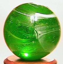 69015: 69015 BB Marbles: German Striped Transparent