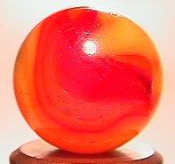 """69016: 69016 BB Marbles: Peltier Clear Rainbo 5/8"""" 9.0"""