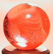 """69019: 69019 BB Marbles: WV Peach Swirl 5/8"""" 9.9"""