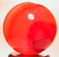 "69021: 69021 BB Marbles: Handcut Agate 13/16"" 9.5"