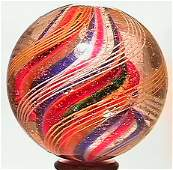 """69075: 69075 BB Marbles: Divided Core Swirl 1-9/16"""" 8.5"""