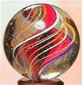 "68335: 68335 BB Marbles: Ribbon Core Swirl 1-1/16"" Pol."