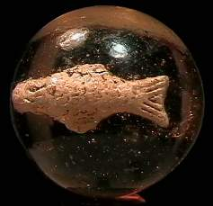"""BB Marbles: Fish Sulphide 1-5/16"""" 9.0"""