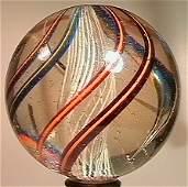 """71009 BB Marbles: Latticinio Core Swirl 1-15/16"""""""
