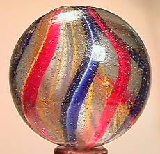 """BB Marbles: 3-Layer Solid Swirl 1-11/16"""" 8.0"""