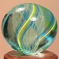 """BB Marbles: Latticinio Swirl 21/32"""" 9.9"""
