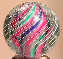 """71019 BB Marbles: 3-Layer Solid Swirl 15/16"""" 9.8"""