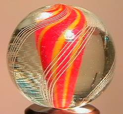 """BB Marbles: Solid Core Swirl 27/32"""" 9.6"""