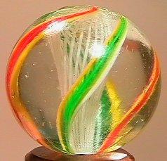 """71024 BB Marbles: Latticinio Swirl 29/32"""" 9.0"""