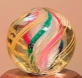 """71034 BB Marbles: 3-Layer Solid Swirl 17/32"""" 9.8"""
