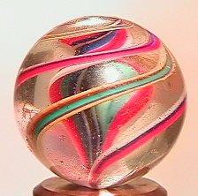 "71080 BB Marbles: Ribbon Core Swirl 13/16"" 8.5"