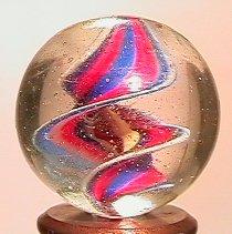 "71117 BB Marbles: Naked Ribbon Swirl 13/16"" 8.5"
