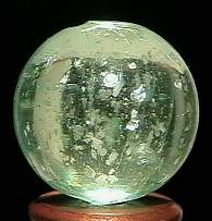 """BB Marbles: Clear Mica 25/32"""" 9.9"""