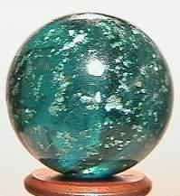 """BB Marbles: Aqua Mica 27/32"""" 9.9"""