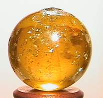 """BB Marbles: Olive Yellow Mica 3/4"""" 8.6"""