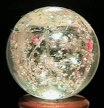 """BB Marbles: Clear Mica 27/32"""" 8.9"""