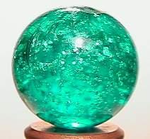 """BB Marbles: Aqua Mica 25/32"""" 9.9"""