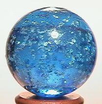 """BB Marbles: Aqua Mica 27/32"""" 9.5"""