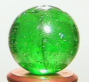 "72004: 72004 BB Marbles: Green Mica 5/8"" 9.9"