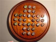 72022: 72022 BB Marbles: Latticinio Swirl Solitaire Set
