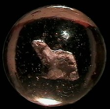 73006: 73006 BB Marbles: Howling Animal Sulphide 1-5/8: